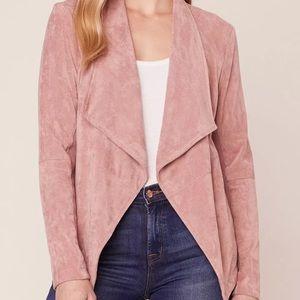 BB Dakota wade faux suede jacket medium A24